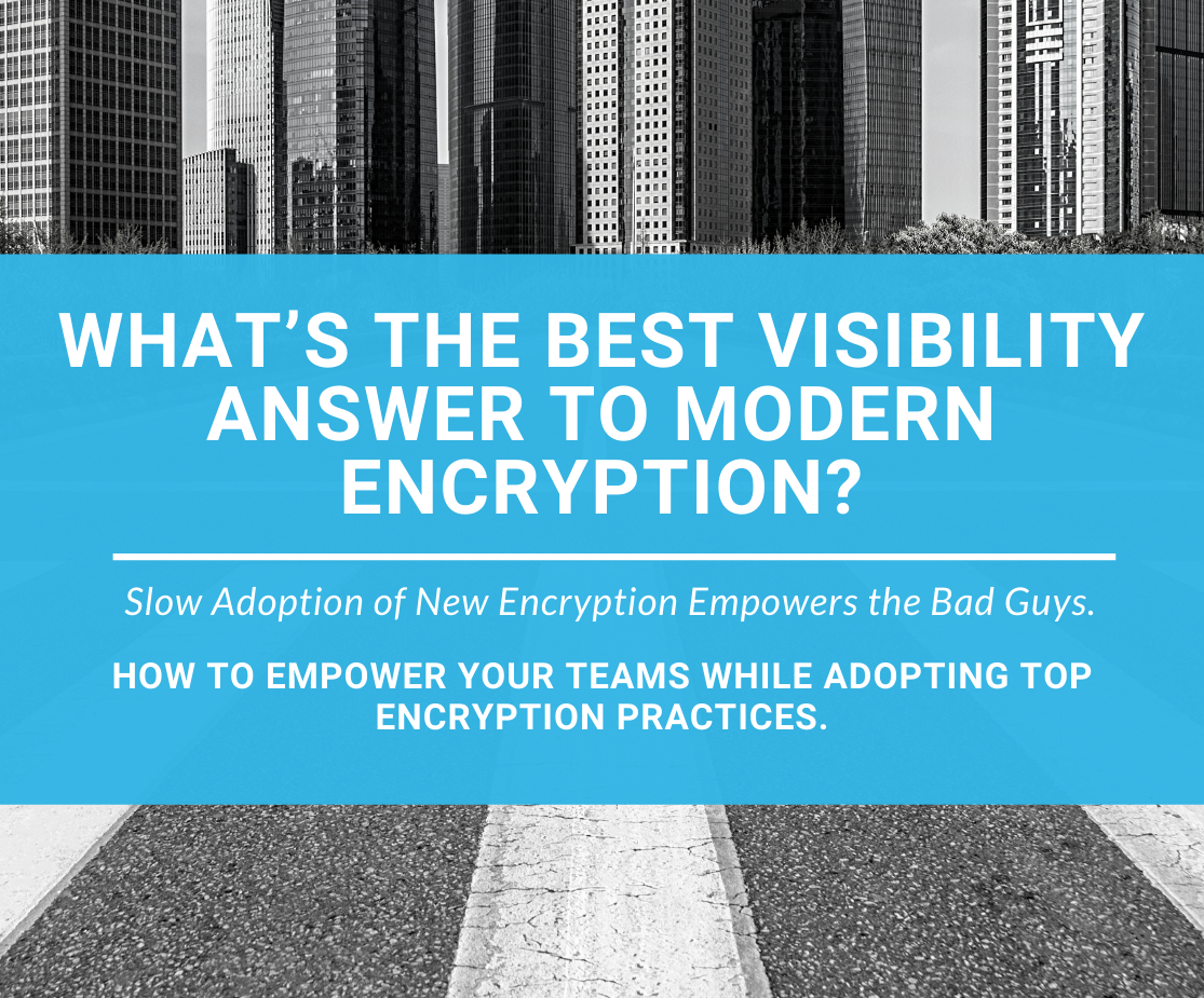 encryption requires visibility